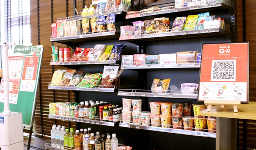 軽食の売店